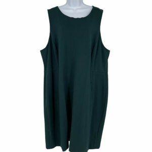 Lands End Sleeveless Sheath Dress Size 26W